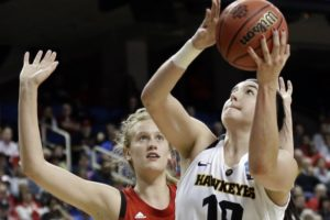 Iowa's Megan Gustafson wins Honda award for basketball