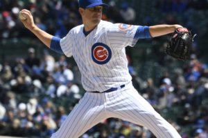 Hendricks strikes out 11, Cubs beat Diamondbacks 5-1