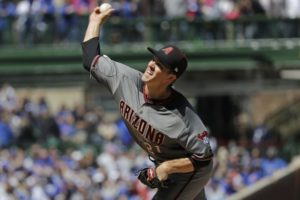 Greinke dominates, Diamondbacks hit 3 HRs, beat Cubs 6-0