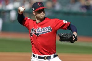 Kluber, Indians down Braves 8-4 in opener of doubleheader