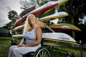 Paralympian strives to help people with disabilities