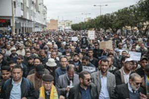 Moroccans protest prison sentences of anti-poverty activists