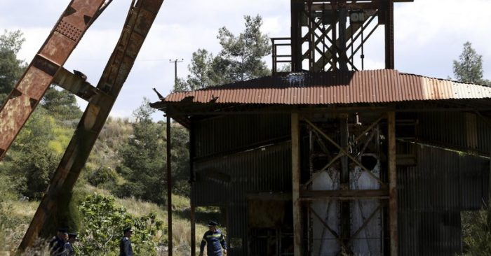 Cyprus police searching for bodies in abandoned mineshaft