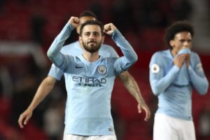Man City 3 wins from retaining Premier League title