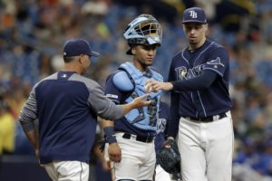 Snell and Rays beaten by Royals 10-2 in lefty's return