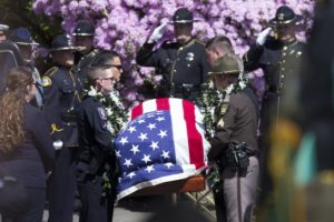 Washington state deputy called 'extraordinary' at funeral