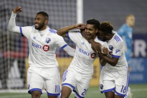 Shome, Jackson-Hamel score late in Impact's win over Revs