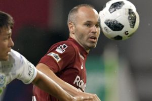 Iniesta confident Japanese club Vissel Kobe can recover