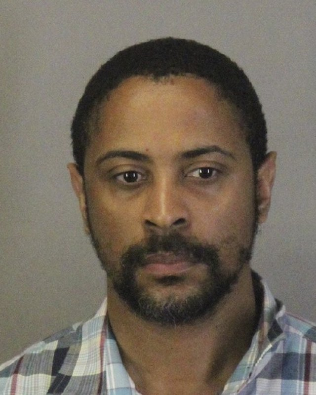 This photo released Wednesday, April 24, 2019, by the Sunnyvale Department of Public Safety shows Isaiah Joel Peoples. (Sunnyvale Department of Public Safety via AP)