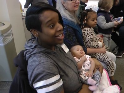Pregnant women guide their own care in group prenatal visits and doctors are taking notice. It's a low-tech approach involving two-hour sessions grouping several women at the same stage of pregnancy. (April 25)