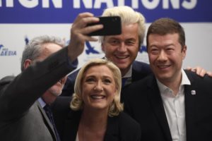Europe's far-right leaders campaign in Prague for EU vote