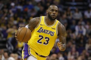 LeBron's new LA jersey supplants Curry's as NBA's top seller