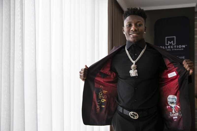 IMAGE DISTRIBUTED FOR JCPENNEY - Top NFL Draft prospect, Marquise