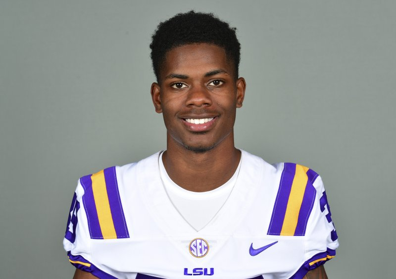 This photo provided by LSU Athletics shows Andraez