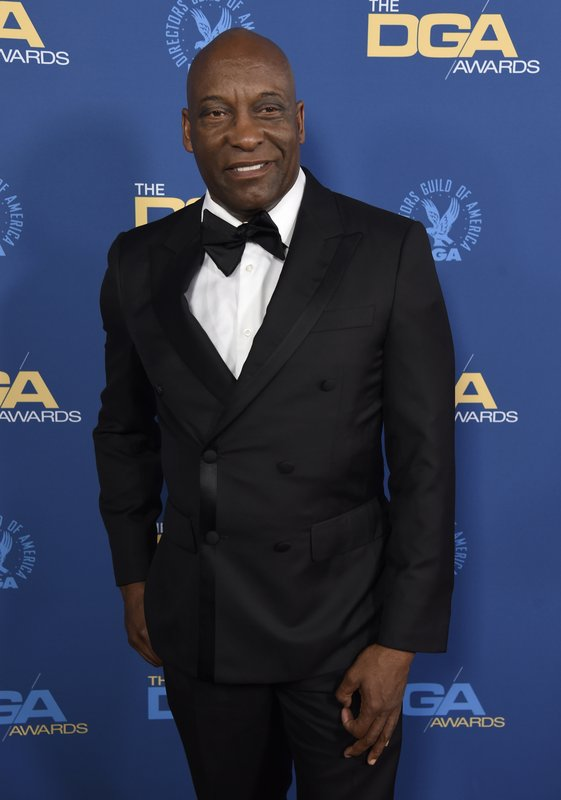 FILE - This Feb. 2, 2019 file photo shows John Singleton at the 71st annual DGA Awards in Los Angeles. (Photo by Chris Pizzello/Invision/AP, File)
