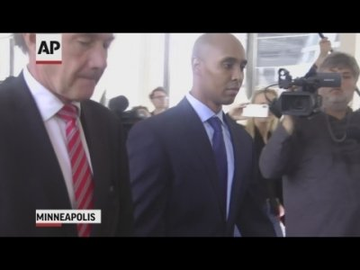 Jurors heard closing arguments on April 29, 2019, in the murder and manslaughter trial of a former Minneapolis police officer who fatally shot a woman who had called 911 to report a possible rape in the alley behind her home. (April 29)
