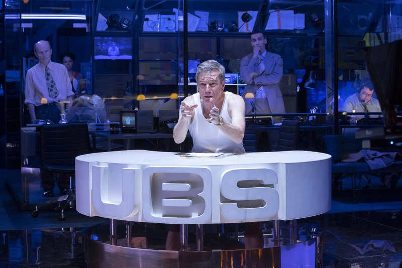 This image released by Polk & Co. shows Bryan Cranston during a performance of