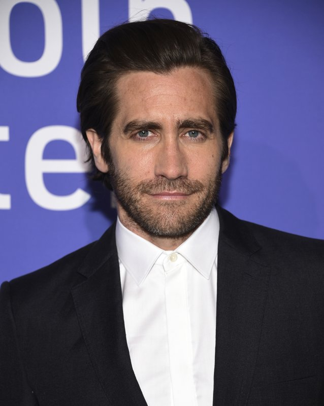 Actor Jake Gyllenhaal attends the Film Society of Lincoln Center's 50th anniversary gala at Alice Tully Hall on Monday, April 29, 2019, in New York. (Photo by Evan Agostini/Invision/AP)
