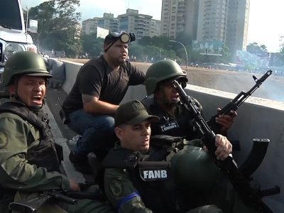 Venezuelan opposition leader Juan Guaido took to the streets with a small contingent of heavily armed troops on Tuesday in a bold and risky attempt to lead a military uprising and oust socialist leader Nicolas Maduro. (April 30)