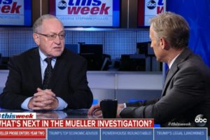 Dershowitz: Mueller 'all wrong' on obstruction, should cite H.W. Bush precedent