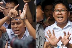 US condemns Myanmar ruling keeping 2 journalists imprisoned