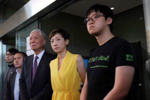 Hong Kong democracy activists get up to 16 months in prison