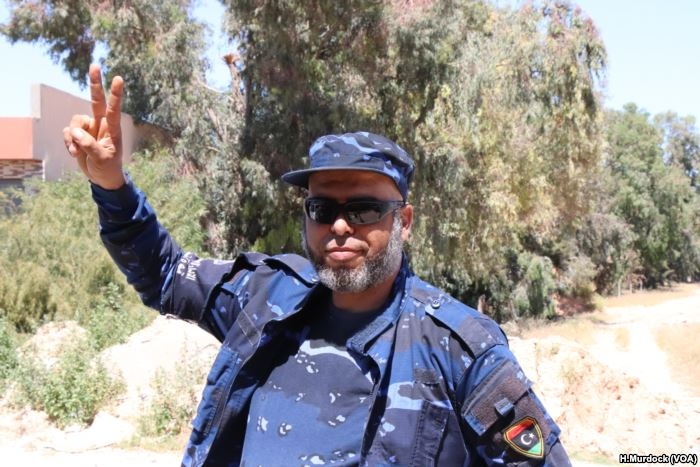 Mohammed Turkey, a special forces soldier for forces based in Tripoli, says t