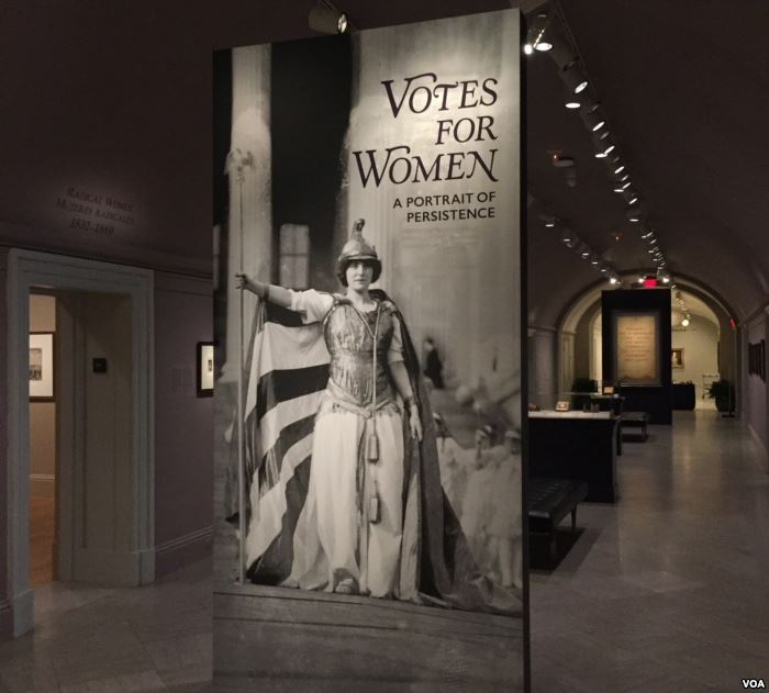 The Votes for Women exhibit at the National Portrait Gallery traces the long