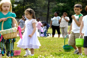 Easter egg hunts and deluded political ideologies