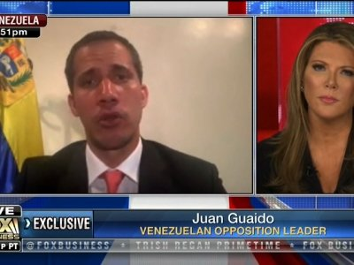 Venezuelan opposition leader Juan Guaidó told Fox Business Network's Trish Regan Primetime that his country's armed forces are listening to the opponents of President Nicolas Maduro. (May 2)
