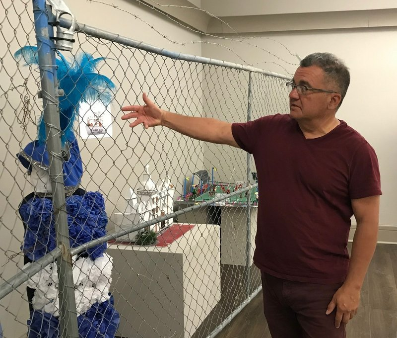 This photo taken April 23, 2019, shows El Paso historian David Romo who is co-curator of the