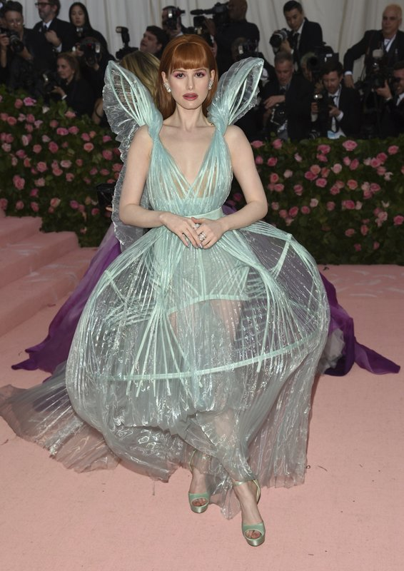 Madelaine Petsch attends The Metropolitan Museum of Art's Costume Institute benefit gala celebrating the opening of the