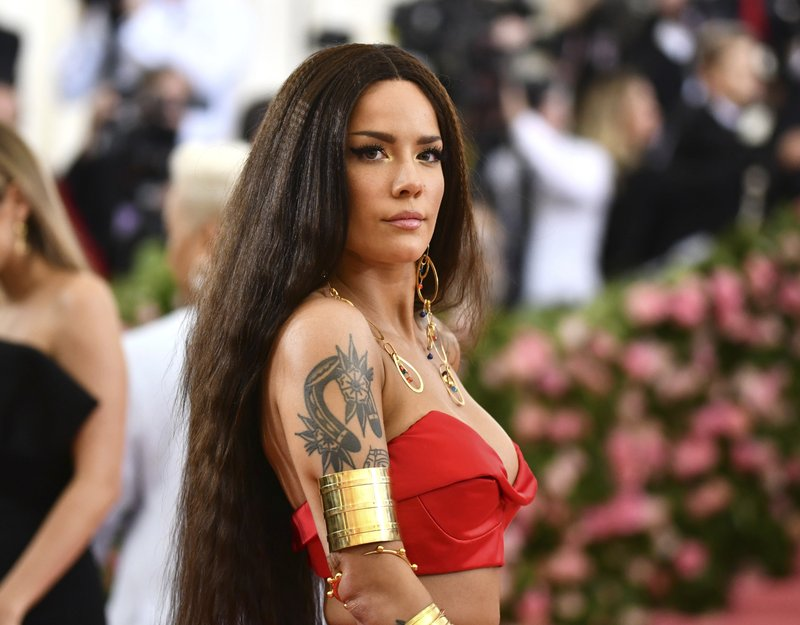 Halsey attends The Metropolitan Museum of Art's Costume Institute benefit gala celebrating the opening of the