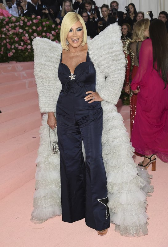 Kris Jenner attends The Metropolitan Museum of Art's Costume Institute benefit gala celebrating the opening of the