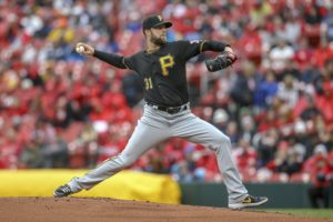 Lyles overcomes high pitch count, Pirates beat Cardinals 2-1
