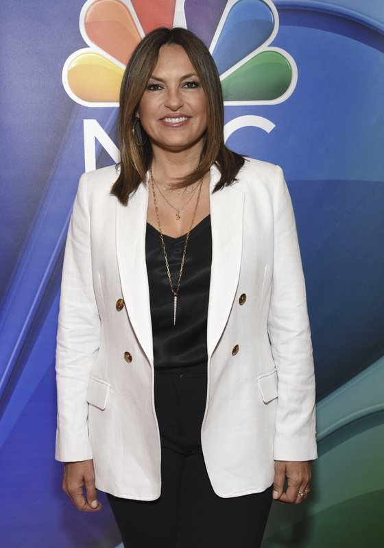 Mariska Hargitay, from the cast of
