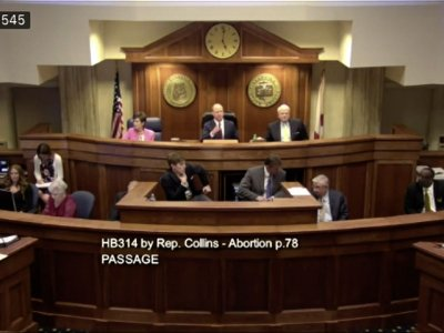 Alabama legislators have given final approval to a ban on nearly all abortions, and if the Republican governor signs the measure, the state will have the strictest abortion law in the country. (May 15)