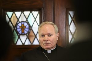 Catholic bishop challenges Dallas police affidavit accuracy