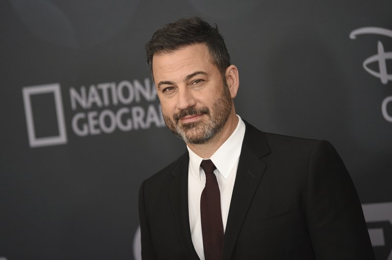 Jimmy Kimmel attends the Walt Disney Television 2019 upfront at Tavern on The Green on Tuesday, May 14, 2019, in New York. (Photo by Evan Agostini/Invision/AP)