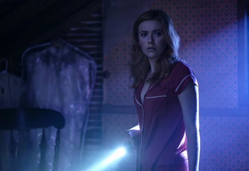 This image released by The CW shows Kennedy McMann as Nancy Drew in a scene from the upcoming series