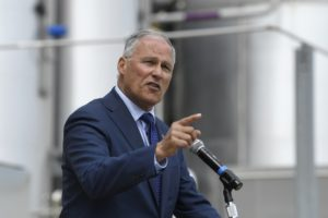 Inslee says he's hit donor threshold for presidential debate