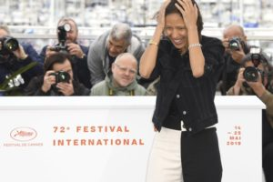 Mati Diop on being the first black woman director in Cannes
