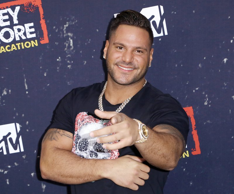 FILE - In this Thursday, March 29, 2018 file photo, Ronnie Ortiz-Magro arrives at the LA Premiere of