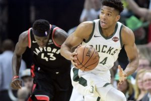 Giannis, George finalists for NBA MVP and defensive award