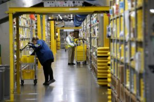 A look inside one of Amazon's warehouses in Virginia