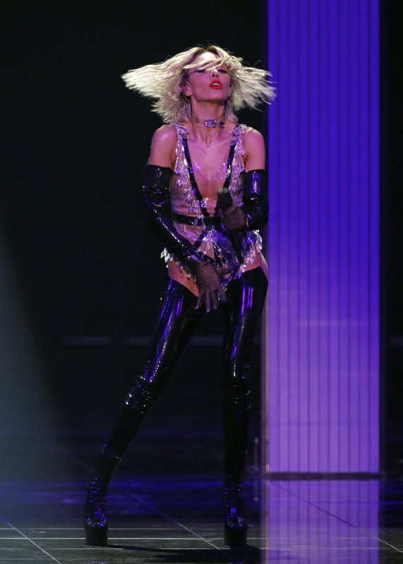 Tamta of Cyprus performs the song