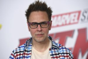 After firing, rehiring James Gunn says he's a better person