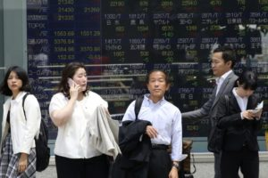 Asian shares mixed; election results buoy India, Australia