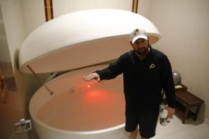Only on : Redskins recovery methods aim to reduce injuries