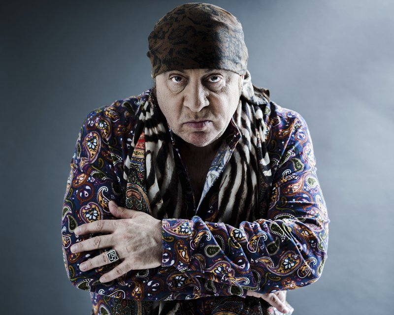 "This May 6, 2019 photo shows actor and musician Steven Van Zandt in New York. Van Zandt's new album ""Summer of Sorcery,"" is a 12-track collection of original material. (Photo by Christopher Smith/Invision/AP)"